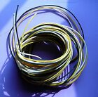22-Ga Stranded Cloth and Wax Covered Guitar Wire .  2 foot lenghts