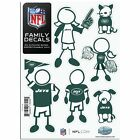 NFL/NCAA Team Small Family Decals and Free Shipping!