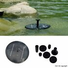 Solar Panel Powered Water Floating Pump Fountain Pool Fishpond Watering Features