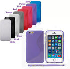 iPhone 6 Apple Case S Line Soft Rubber Gel TPU Cover Skin Transparent Ships USA