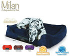 Scruffs Memory Foam Milan Orthopaedic Box Bed Pet Dog Bed (Choose Size & Colour)