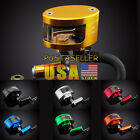 Universal Brake Tank Oil Fluid Reservoir Cup For Yamaha YZF R1 R6 R6S FZ 7 Color