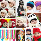 New Baby Kids Cute Knit Beanie Costume Warm Photography Prop Crochet Hat Cap