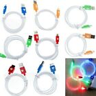 New LED Light USB Data Sync Charger Cable for Apple iPhone 5 5s