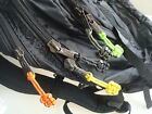 "Handmade 3"" Reflective 550 Paracord Zipper Pulls Lanyard Zip Puller For Backpack"