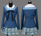Beyond the Boundary Cosplay Mirai Kuriyama Ayi Ai Shindo Costume - Real stock