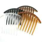 LARGE Clear plastic hair comb hair accessories Assorted 100mm (28-16-241)