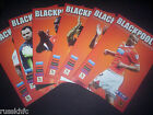 2014/15 - BLACKPOOL HOME PROGRAMMES CHOOSE FROM