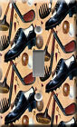 Light Switch Plate Cover - Golf accessory - Sport ball shoes club stick champion