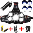 Super-bright 90000LM 5 X XM-L T6 LED Headlamp Headlight Flashlight Head Torch