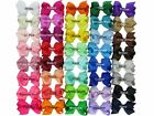 WITHOUT CLIP GROSGRAIN RIBBON BOW HAIR CLIP PIN ALIGATOR CLIPS FLOWER BABY/GIRL