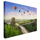 Clifton Suspension Bridge, Bristol Canvas Art Cheap Wall Print Home Interior