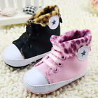 Baby girl boy Crib Shoes soft soled leisure Shoes Size 0-6 6-12 12-18 months