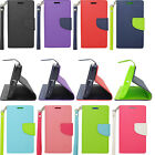 Sharp Aquos Crystal Folio Case Pouch Wallet W/ Card Slot Phone Cover Hand Strap