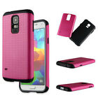 Tuff Dual Layer Hybrid Hard Case Phone Cover for Samsung Galaxy S5 i9600 (G900)