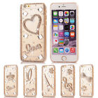 3D Clear Bling Diamond Crystal Hard Case Cover for iPhone 6 Plus (5.5 inch)