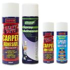 Carpet Contact Adhesive Heavy Duty Spray Glue Craft Mount 500ml 200ml