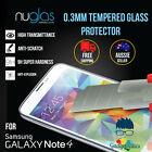 Genuine NUGLAS Tempered Glass Screen Film Protector Samsung Galaxy NOTE 4 NOTE 5