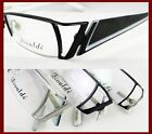 Men Half-rimless optical lens-able Eyeglass frame black/silver/gunmetal springs