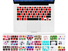 Mosaic Silicone Keyboard Cover Skin Protector for Macbook Pro Air Retina13 15 17