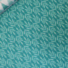 Panduro 100% Cotton Fabric *on SALE* Twig Green Material Leaf Teal Quilting Bag