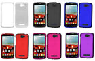 Alcatel One Touch Pop Icon Hard rubberized slim Case Phone Cover protector