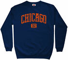 Chicago 312 Sweatshirt - Area Code 312 Chi-Town Illinois Crewneck - Men S to 3XL