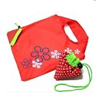Cute Foldable Eco Reusable Shopping Bag Strawberry or Cat Shoulder Tote KocoShop