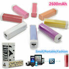 2600mAh External Power Bank USB Portable Battery Charger for iPhone4S 5S Samsung