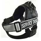 Service Dog Vest Removable Reflective Chest Plate Velcro Patches 9 Colors 4 Size