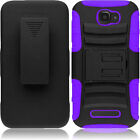 3IN1 RUGGED CASE & BELT CLIP HOLSTER FOR ALCATEL ONE TOUCH FIERCE II 2 / 7040T