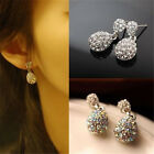 Women Hot Sale Fashion Cute Lady Crystal Rhinestone Dangle Style Studs Earrings