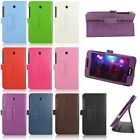 For ASUS FonePad 7 FE375CG 7inch Tablet Folio PU Leather Case Stand Cover Fit