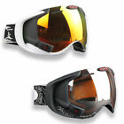 Oakley Airwave 1.5 Hightech Snowboardbrille Google mit Display Navy MP3 GPS