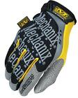 Genuine Mechanix Wear Black / Yellow Original 0.5mm Gloves Cycle Car Repair