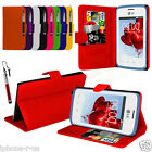 9 Colour Leather Stand Wallet Flip Mobile Phone Case For LG L20