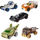 OFFICIAL DISNEY STAR WARS HOT WHEELS CHARACTER VEHICLES COLLECTION COLLECT ALL 5
