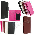 """4.2-4.5"""" Universal Flip Leather Case Cover Suction Wallet For iPhone 5 5S HTC"""