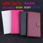 R-L Flip Leather Case For Alcatel One Touch Idol 2 Mini S OT 6036A 6036X 6036Y