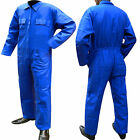 Overall Coverall Boiler Suit Workwear Mechanics Work Suit Royal Blue S to XXXL