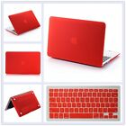 "4in1 Anti-Scratch Rubberized Matt Case Cover Plug for MacBook Air Pro 11"" 13 15"