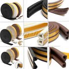 Seal Strip Weatherbar P Tpye 5M Draught Window Self Excluding Rubber Roll