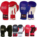 Rex Leather Boxing Gloves Grappling MItts MMA Training Gloves ADULTS / YOUTH