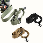 Outdoor Hunting MOLLE 1 One Point Adjustable Bungee Rifle Gun Sling System Strap