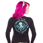 Sourpuss Strickjacke Cardigan - Angry Octopus