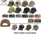 Low Profile Adjustable Tactical Operator Hat W/Flag or Security Patch 9362 #2