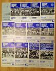 Coventry Rugby Programmes 1958 - 1999