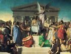 Aotheosis of Homer by Ingres (Classic French Neoclassical Art Print)
