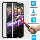 Black/White Premium 9H Tempered Glass Screen Protector For iPhone 6 / 6 Plus New