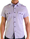 Oxygen Men's Designer Short Sleeve Shirt  (S, M, L, XL, 2XL and 3XL) RRP $59.95